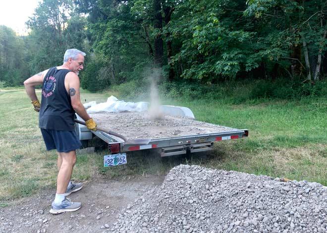 Rock Pile Workamping Labor