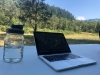Outdoor Office in July
