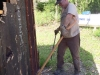 Dismantling Cabin at Vickers Ranch Workamping Job