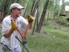 Jim Workamping at Vickers Ranch Lake City, CO