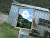 Upcycled Barnwood Mirror Made by Workampoing Jim