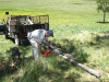 Getting Firewood for Vickers Ranch Cabins and Cookouts