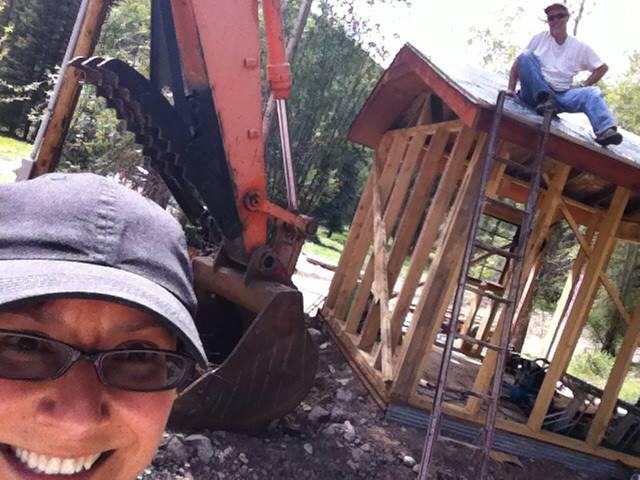 New Construction at Workamping Ranch Job