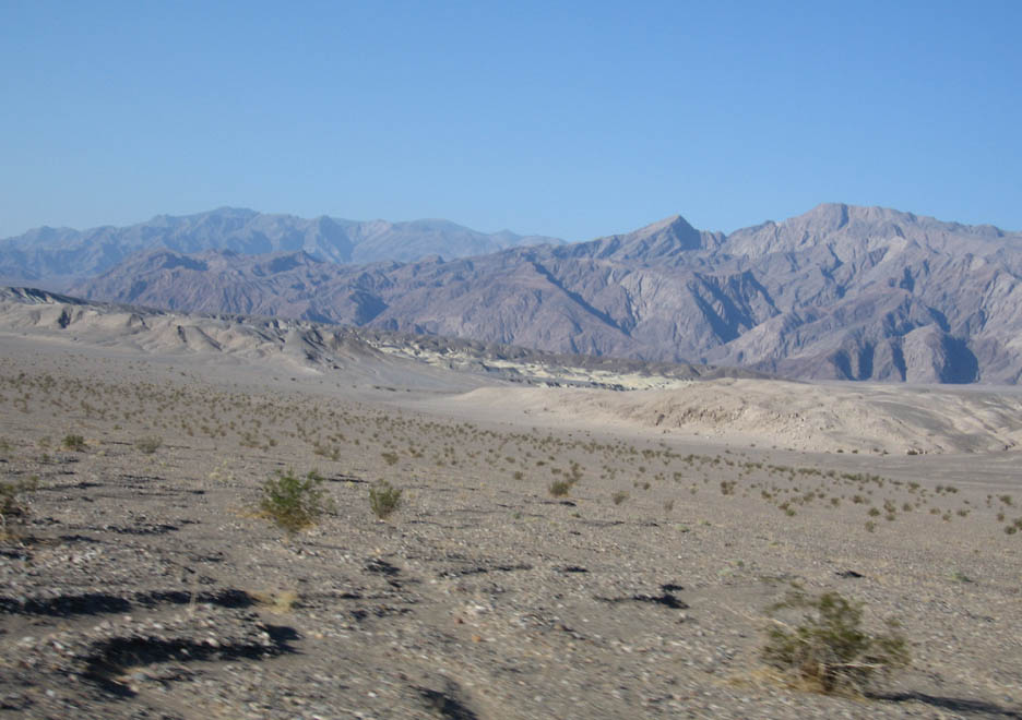 Sunup in Death Valley