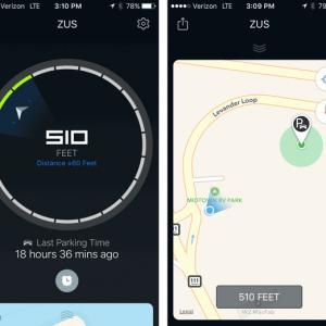 Nonda Zus Car Locator App