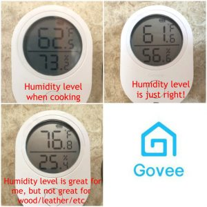 manage RV humidity