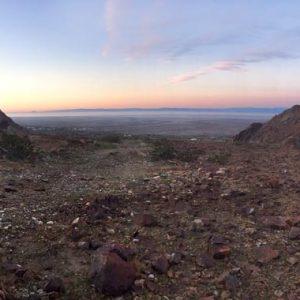 Chocolate Mountains view of Salton Sea