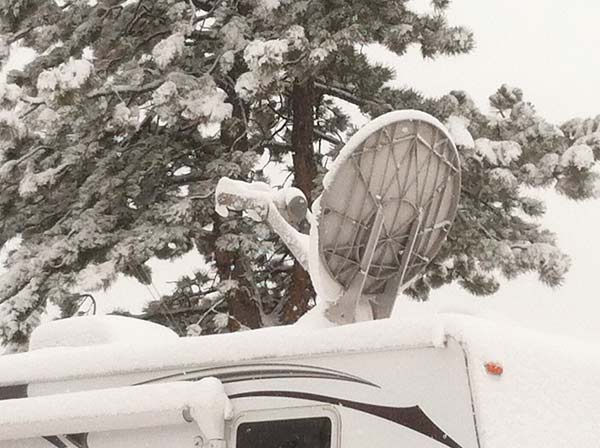 CO Spring Snow RV
