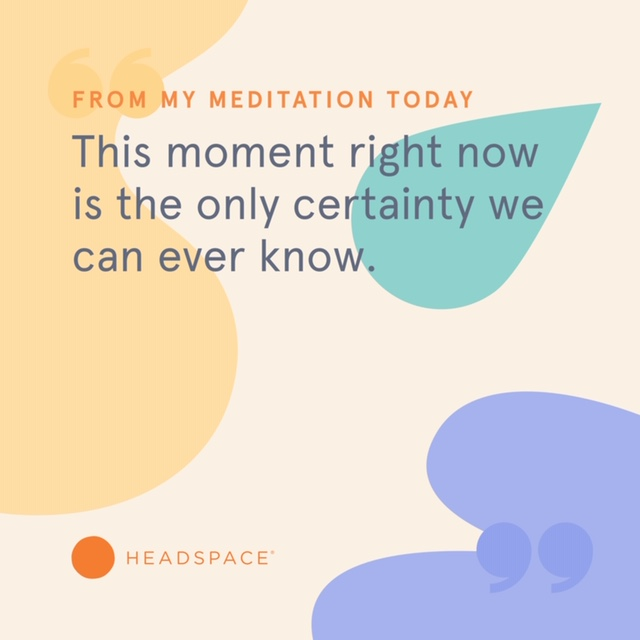 this moment headspace quote