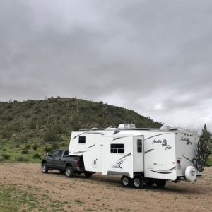 price we pay for free boondocking spots