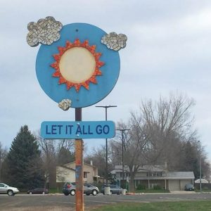 Let It Go Sign