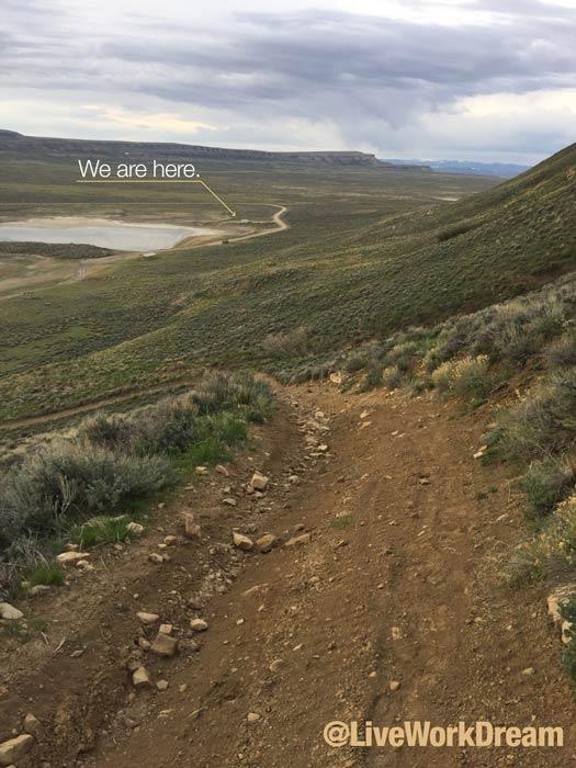 Rim Lake Wyoming