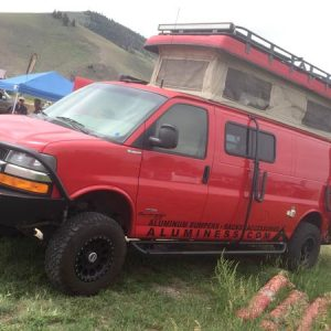 Rocky Mountain Overlander Rally 4X4 Chevy Van Sportsmobile