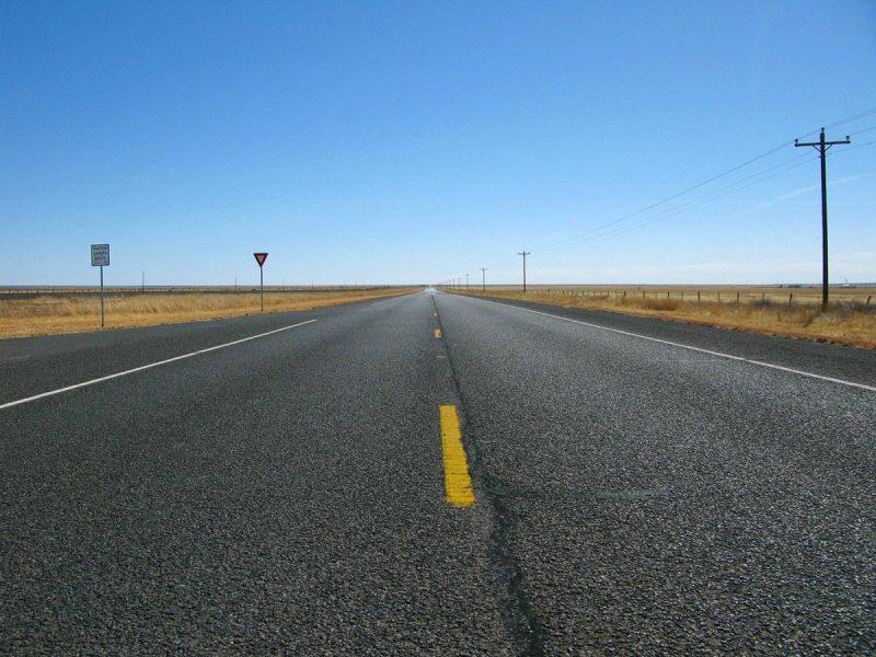 Marfa Texas Highway