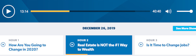 Real Estate Wealth Building Myth