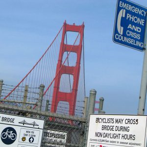 Golden Gate Bridge Crisis Hotline
