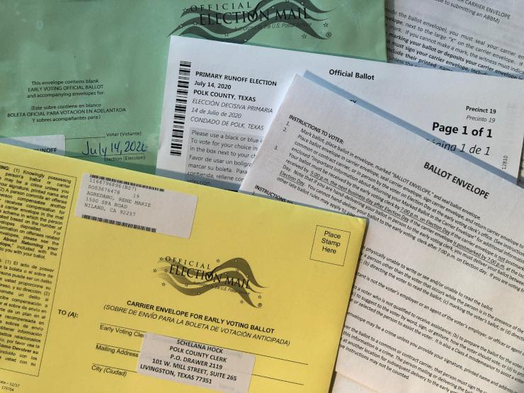 Fulltime RVing Absentee Voting