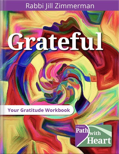 Rabbi Jill Zimmerman Gratitude Workbook