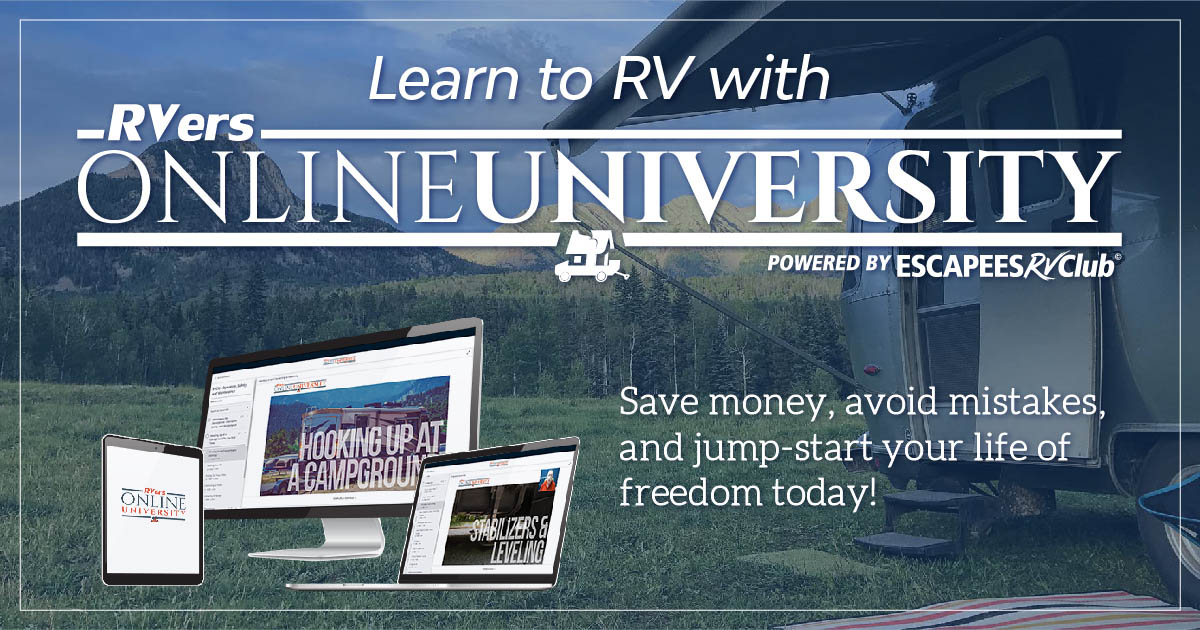 full-time RVing training