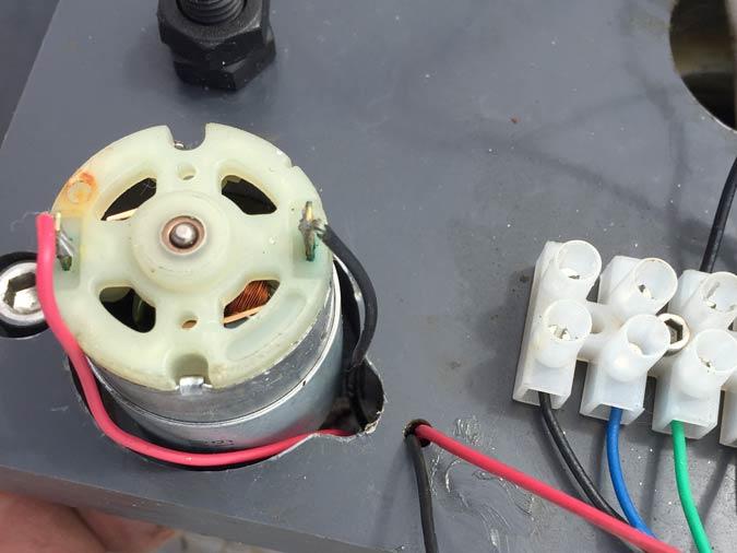 satellite dish skew motor