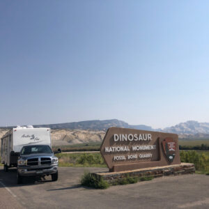 Dinosaur National Monument Fossil Quarry Entrance