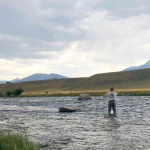 Fishing-Madison-River-at-Ruby-Creek-Montana