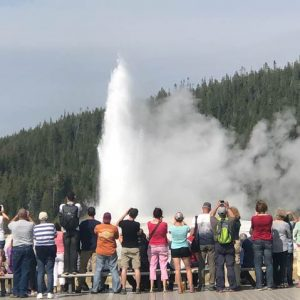 Old-Faithful-crowd-at-Yellowstone-National-Park