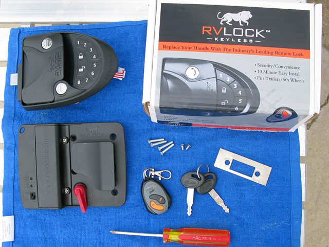 Why You Must Change RV Door Lock and How To Install RVLock Keyless