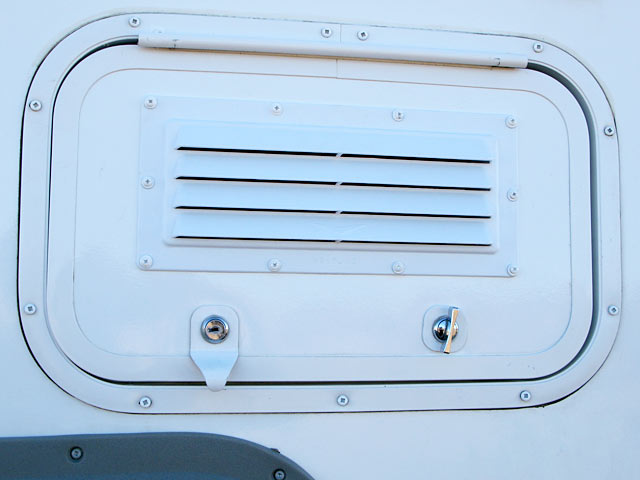 How To Add Louvered Vent To Rv Cabinet Door For Exterior