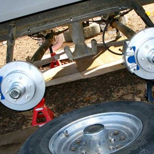 Titan-Trailer-Disc-Brakes-Installation